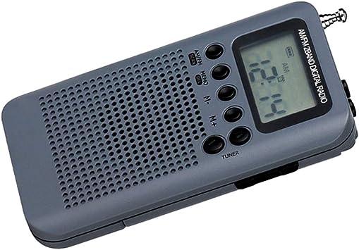 Baoblaze Portátil Radio de Onda Corta Am/FM Transistor Recoder con Reproductor de MP3: Amazon.es: Electrónica