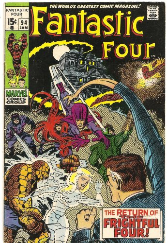 Fantastic Four #94 (The Return Of The Frightful Four!)