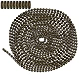 10 Foot Length Ball Chain, Number 6