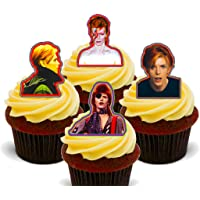 Made4You David Bowie - Decoración Comestible para Cupcakes