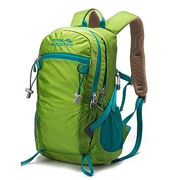 a60cfc84cc4 Mochila Vuelo Aprobado Compartimiento para computadora portátil Bolsa de  Negocios Viaje Equipaje de Mano FENGMING (Color   Light Green