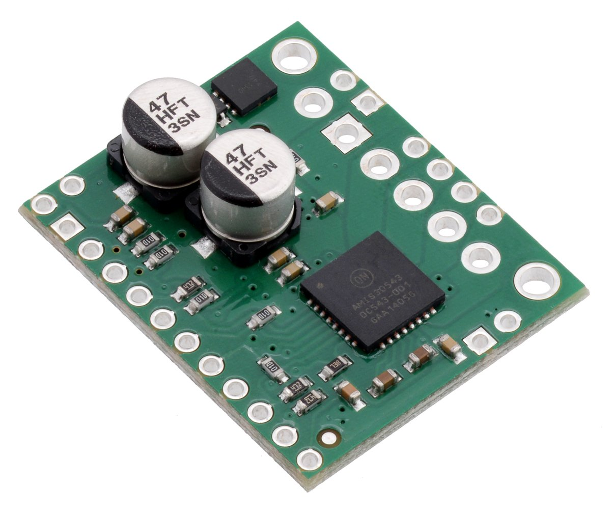 Amis 30543 Stepper Motor Driver Carrier Industrial Circuit Of The 3phase Spindle Amplifiercircuit Scientific