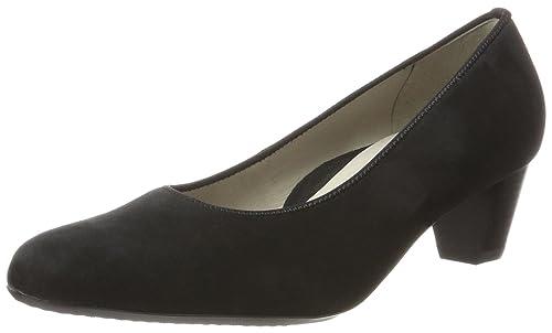 Ara Knokke, Zapatos de Tacón con Punta Cerrada para Mujer, Schwarz (Schwarz), 41.5 EU Ara