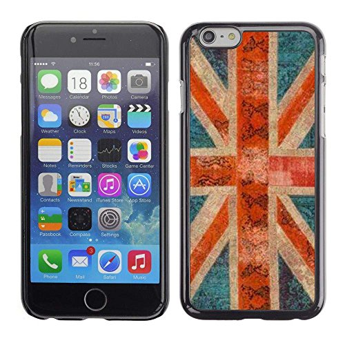 GIFT CHOICE / Slim Hard Protective Case SmartPhone Shell Cell Phone Cover for Apple Iphone 6 Plus 5.5 // England great Britain rustic gb London //
