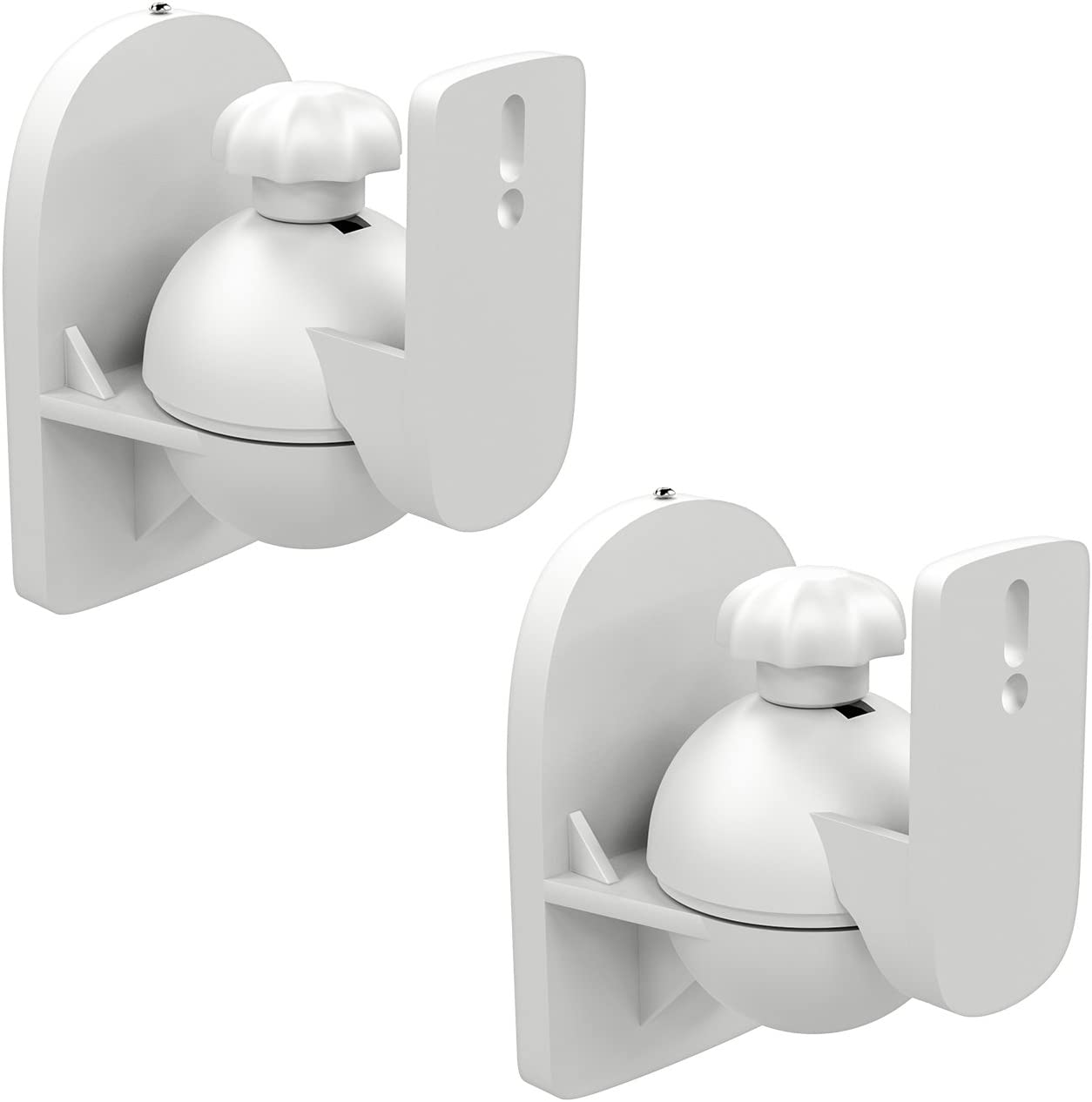 Deleycon 2x Universal Lautsprecher Wandhalterung Elektronik