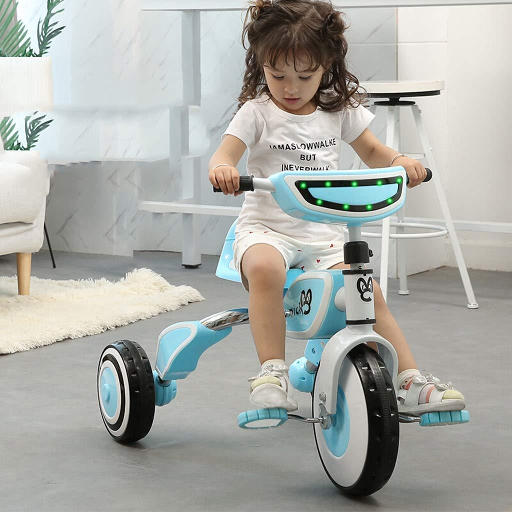 64f21b54c ... Triciclo de de de niños Cochecito de bebé Cochecito Ligero Plegable 2-5  años de ...