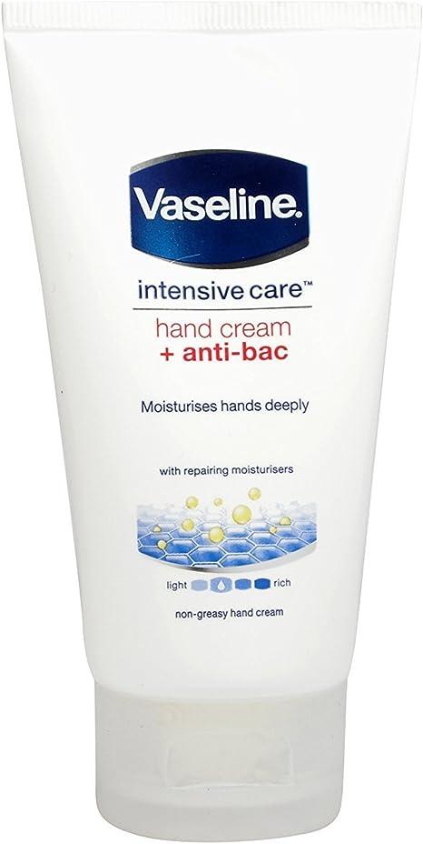 Vaselina de cuidados intensivos + anti-bac crema de manos 75 ml ...