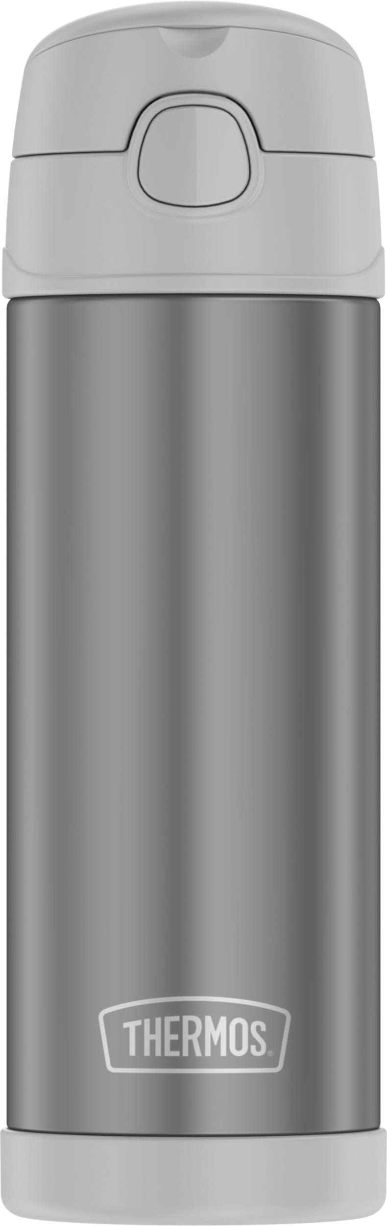 Thermos Funtainer 16 Ounce Bottle, Cool Gray