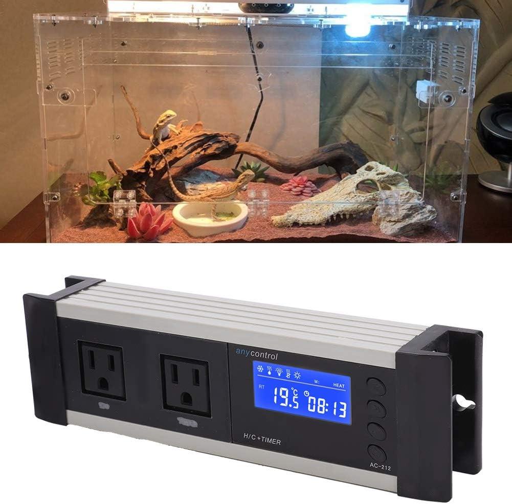 Inkbird Digital Temperature Controller ITC608T Humidistat 110V Tortoises Turtles