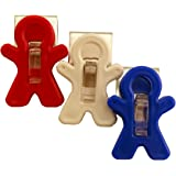 Adams Manufacturing All-American Magnet Man Clip, 3-Pack