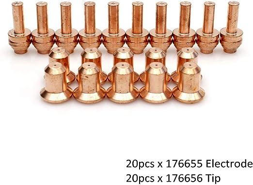 10 x Nozzles 25C//27C Spectrum 375 Xtreme *FAST US SHIP* Miller 176656 25A