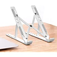 PHOCAR Portable Laptop Stand, Aluminum Adjustable Stand for iPad, MacBook Pro, Other Tablets and Laptops, Such as Lenovo ThinkPad, Dell Inspiron XPS, HP, ASUS, Acer