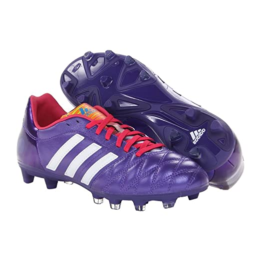 Adidas 11Nova TRX FG Soccer Cleats Shoes  Blast Purple Mens  95
