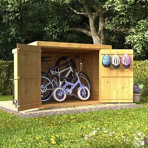 Cobertizo en madera machihembrada de 1.82 x 1.21 m, cabaña de ...