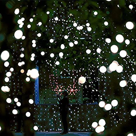 heavy duty commercial g40 globe led string lights17ft 25 outdoor cool white christmas lights
