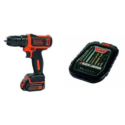 Black & Decker BDCDD12-QW - Taladro atornillador sin cable ...