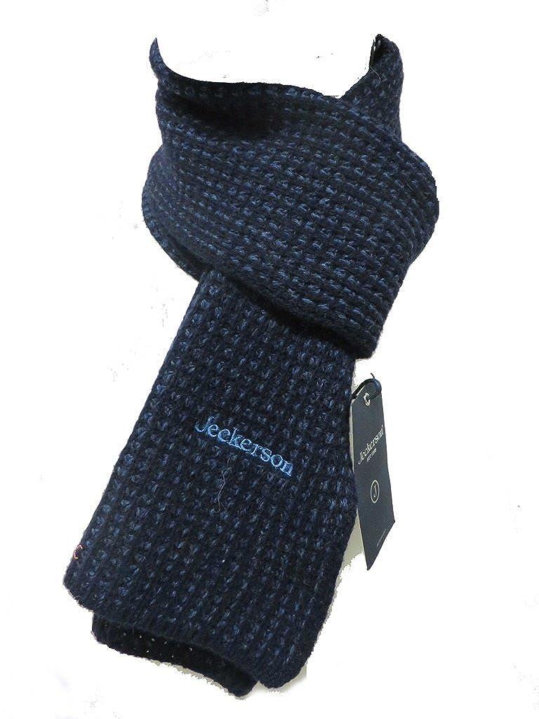 JECKERSON sciarpa scarf 02257 blu unisex jeans