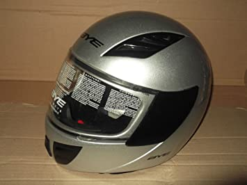 BYE casco Integral Moto Original Yamaha Hero Color Gris, Talla M 57/58 cm