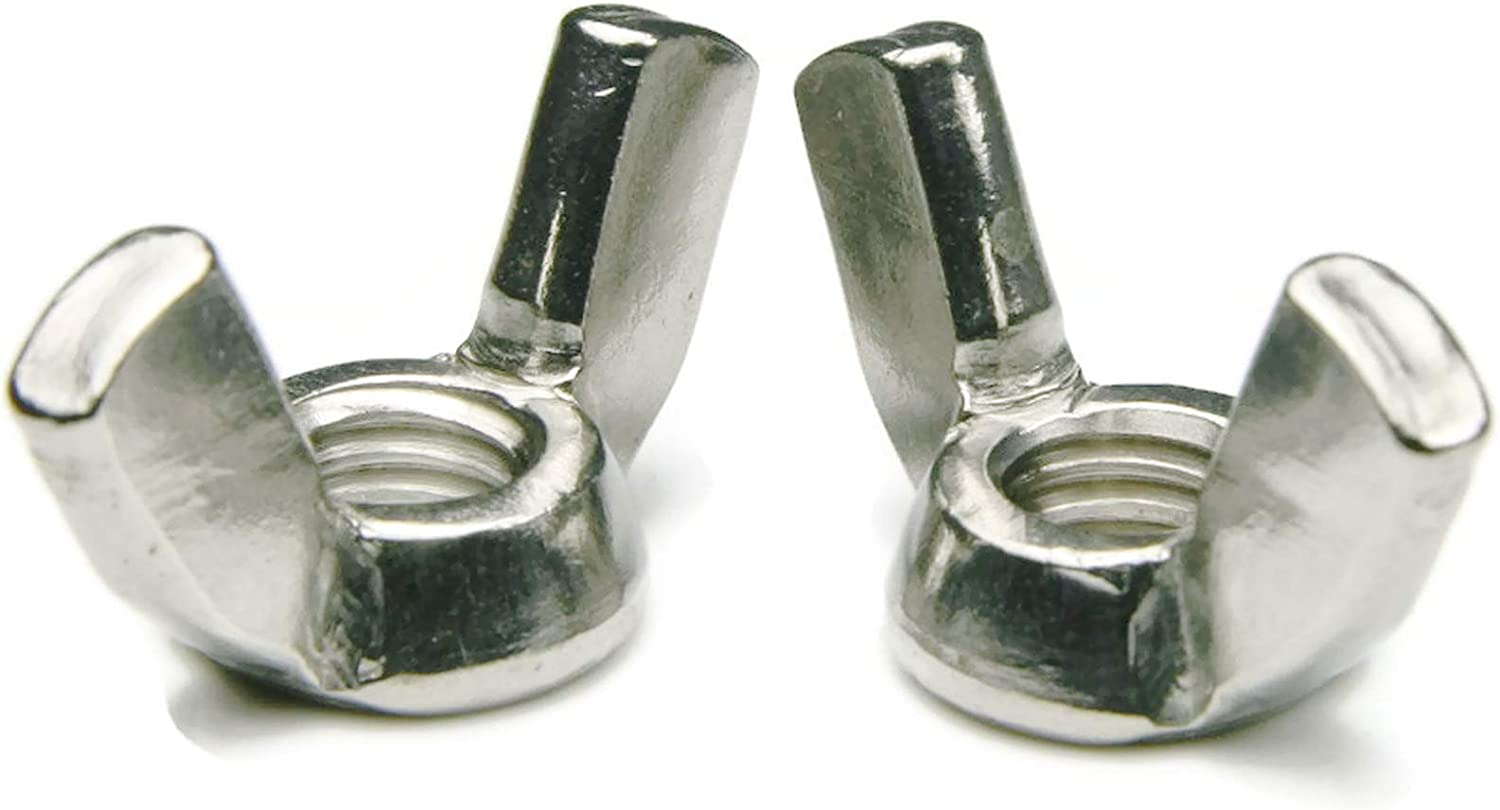 6M x 1.0 Qty-25 Wing Nuts A2 Stainless Steel 26.59M Wing Span x 13.55M Height