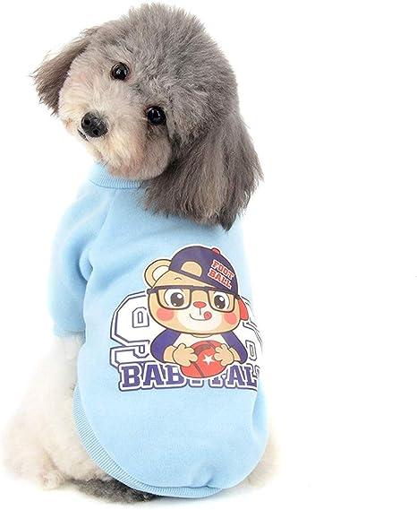 GLEYDY Jersey para Mascotas Lana de Coral Abrigo de Invierno cálido para Perros pequeños para Cachorros Gatos Ropa de Cachorro de Forro Chihuahua: Amazon.es: Deportes y aire libre