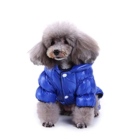 Ropa para Mascotas, Gusspower Ropa de Abrigo Abajo Chaqueta Invierno Suéter cálido cómodo Deportiva Traje