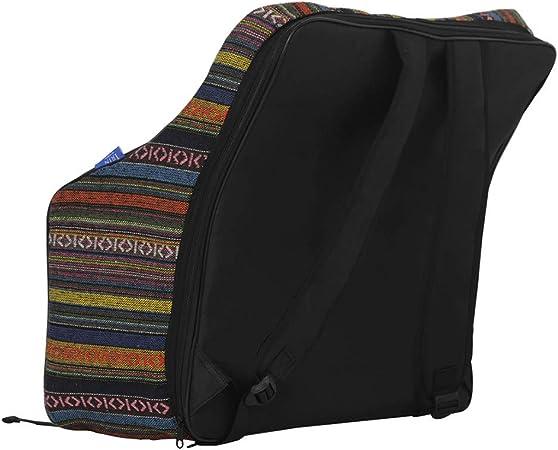 ABMBERTK Estuche para acordeón, para 48-120 acordeones Bajos, Accesorios para Instrumentos de Teclado Musical, Caja de acordeón, como en la Imagen: Amazon.es: Hogar