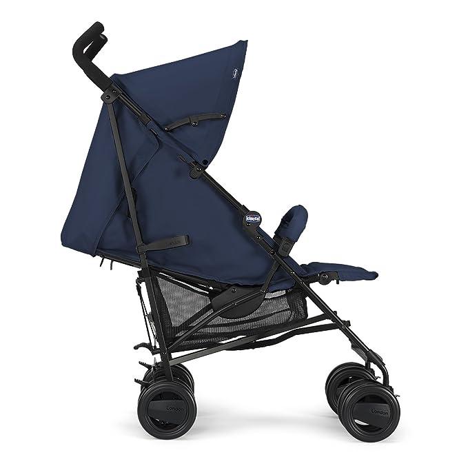 Chicco London Silla de paseo para Niños, 7.2 kg, Azul, 0m+