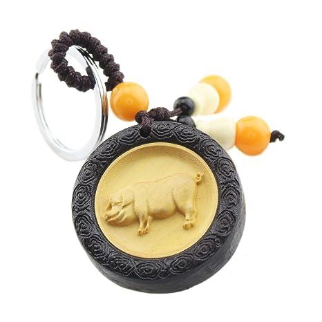 Amazon.com: foy-mall Símbolo zodiacal chino serie Llavero ...