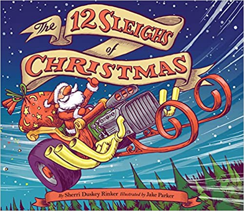The 12 Sleighs of Christmas Book Cover