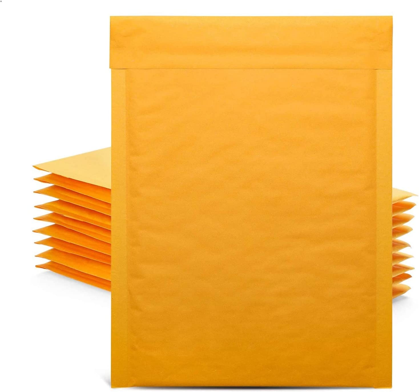Poly Bubble /& Poly Bags ~ Self-Sealing Shipping Mailers 40 Small Mixed Lot Combo of Kraft Bubble