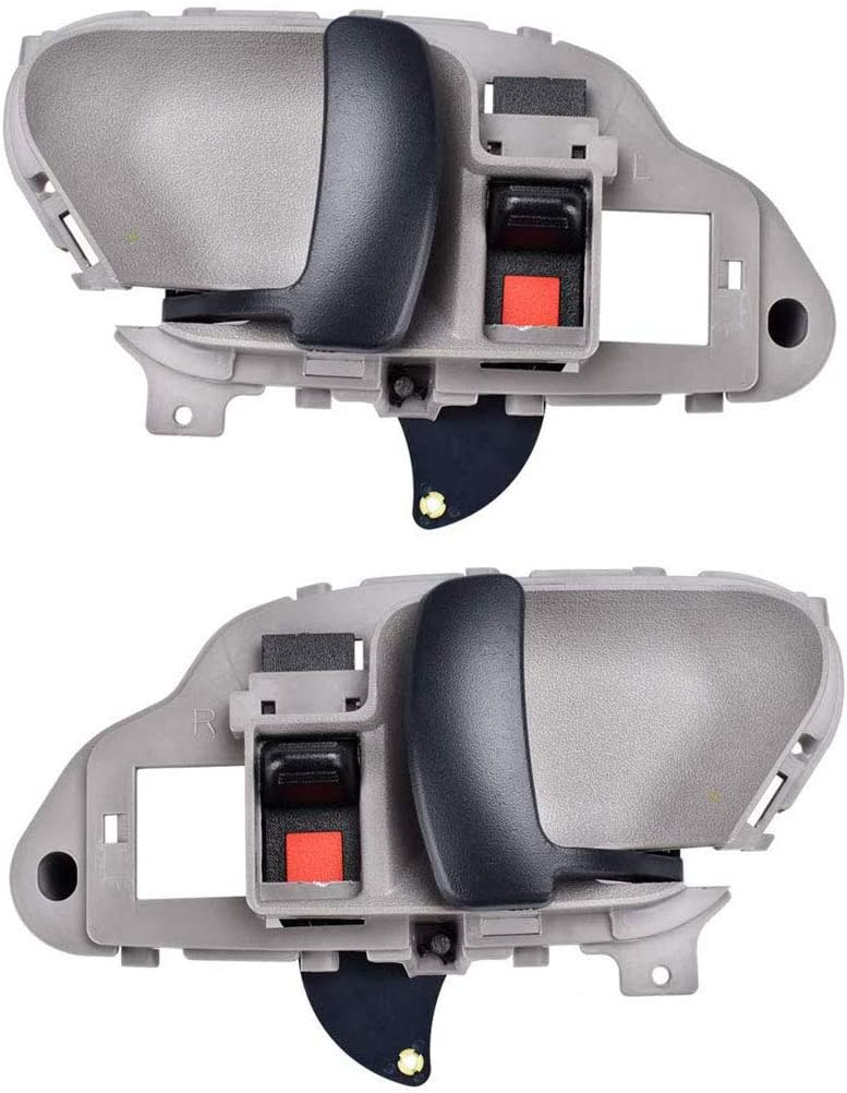 15708043 15708044 2Pcs Front or Rear Driver /& Passenger Side Replacement Interior Inside Door Handle for Chevy Silverado Suburban Tahoe GMC Yukon 1995 1996 1997 1998 1999 2000