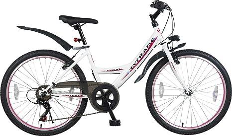 Bicicleta infantil de Mountain Bike para niña, 24 pulgadas, 7 ...
