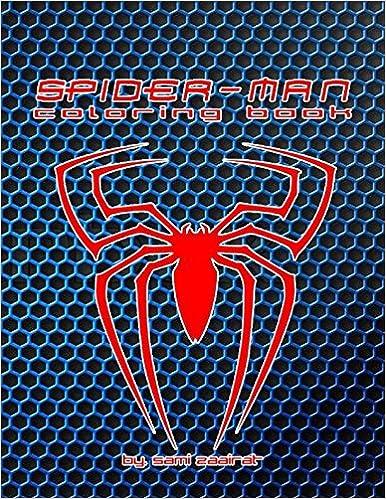 Spider-man: coloring book: sami zaairat: 9781520668376
