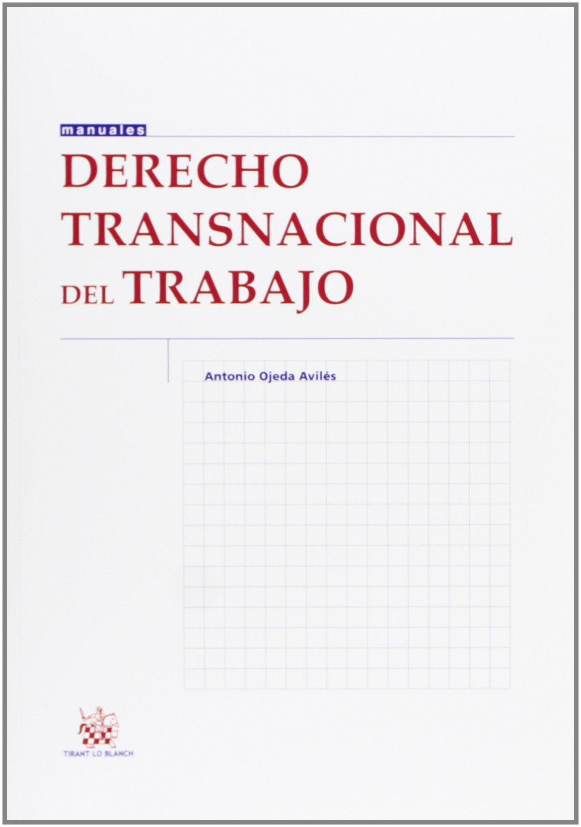 Amazon.com: Derecho transnacional del trabajo (9788490334102 ...