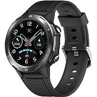 YAMAY Reloj Inteligente, Smartwatch Hombre 5ATM Impermeable con 12 Modos Deportivos Cronómetro Pulsómetro Pulsera…