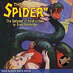 Spider #7 April 1934