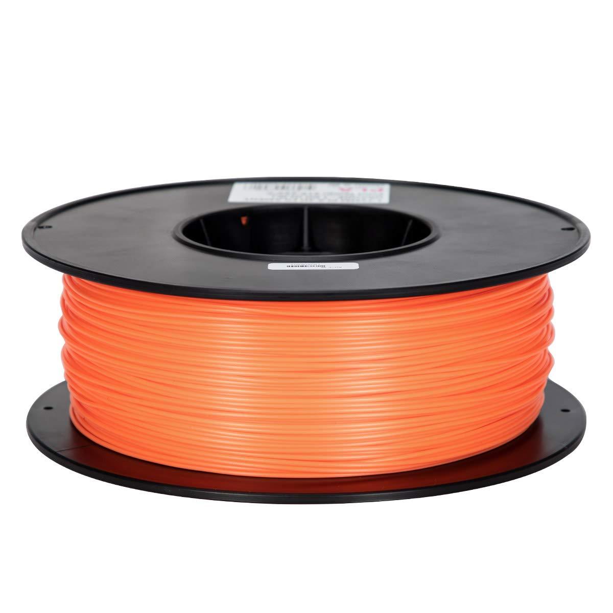 3D filament Makeasy petg filament 3D Printer Filament 1.75mm 1KG 2.2lb +//- 0.02 mm 1 kg Spool Black, ABS