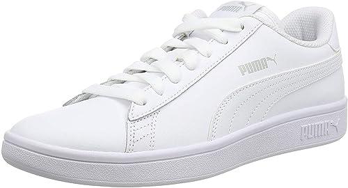 Smash v2 L White Leather Sneakers