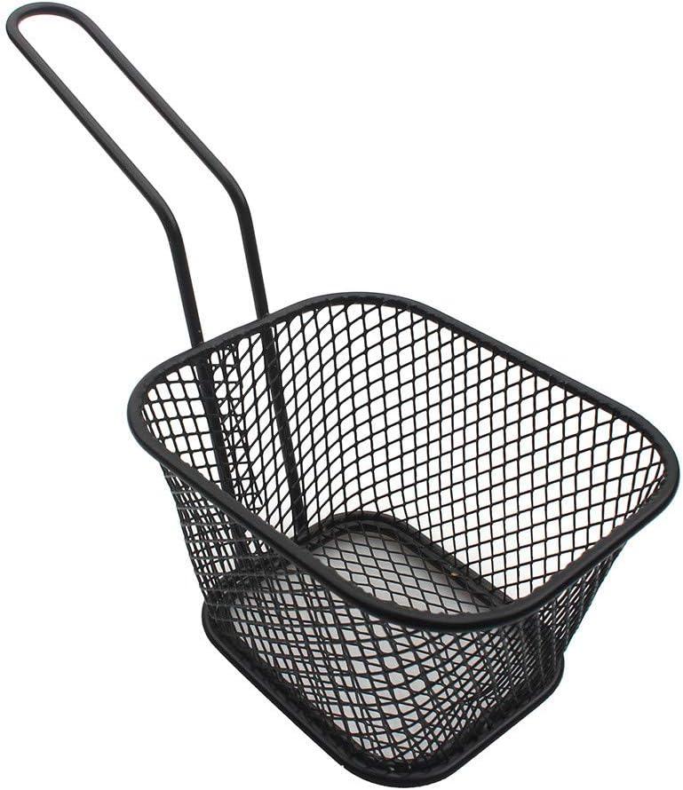 Lomsarsh Mini cestini in Acciaio Inossidabile placcati in Acciaio Inox Cestini Quadrati congelati Utensili da Cucina Perfetti per intrattenere la Famiglia e Gli Ospiti