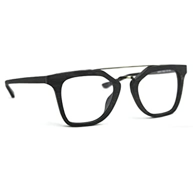 TIJN Mens Stylish Woodgrain Eyeglasses Frame Faux Wooden Glasses ...