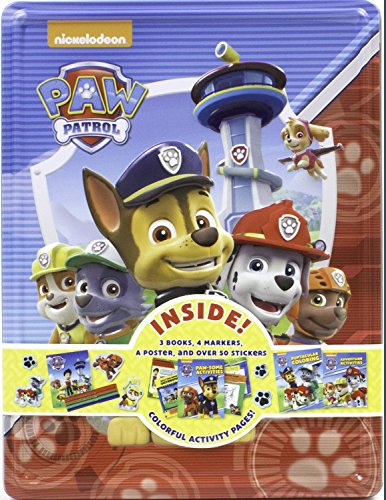 Nickelodeon Paw Patrol: Books and Keepsake Tin (Happy Tin)