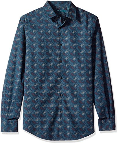 Perry Ellis Printed Paisley Shirt