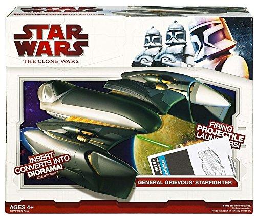 Star Wars Clone Wars Star Fighter Vehicle - ()