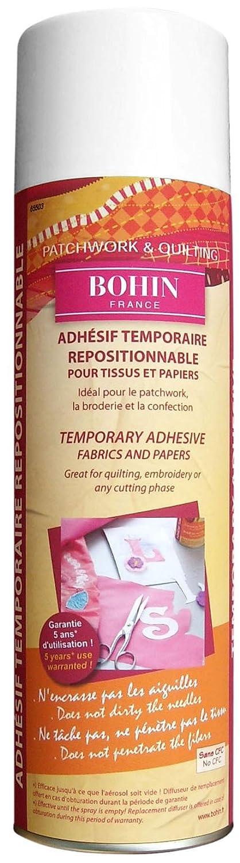 Bohin Temporary Adhesive Spray, White, 500 ml 65503