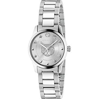 fcc56404118 Amazon.com  GUCCI G-TIMELESS ladies watch 27mm YA126595  Watches
