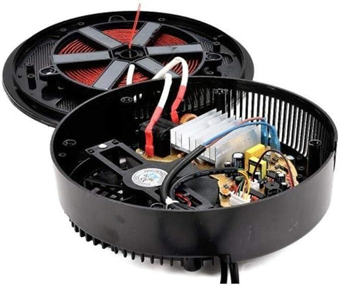 Cocina de inducción Estufa electromagnética portátil de 800 vatios ...