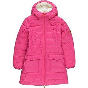 Save The Duck Giga Faux Fur Jacket - Girls' Azalea Pink, 14
