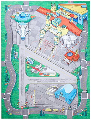 Airport Playmat - Large International Airport Play Mat Item #HR2039