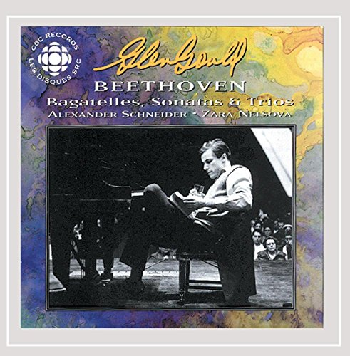 Gould  Glenn  Original Cbc Broadcasts   Beethoven