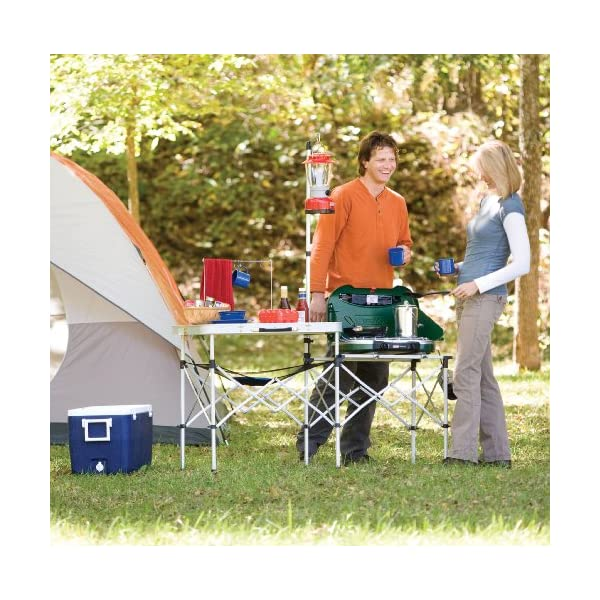 Coleman Pack Away Portable Kitchen The Bearded Camper